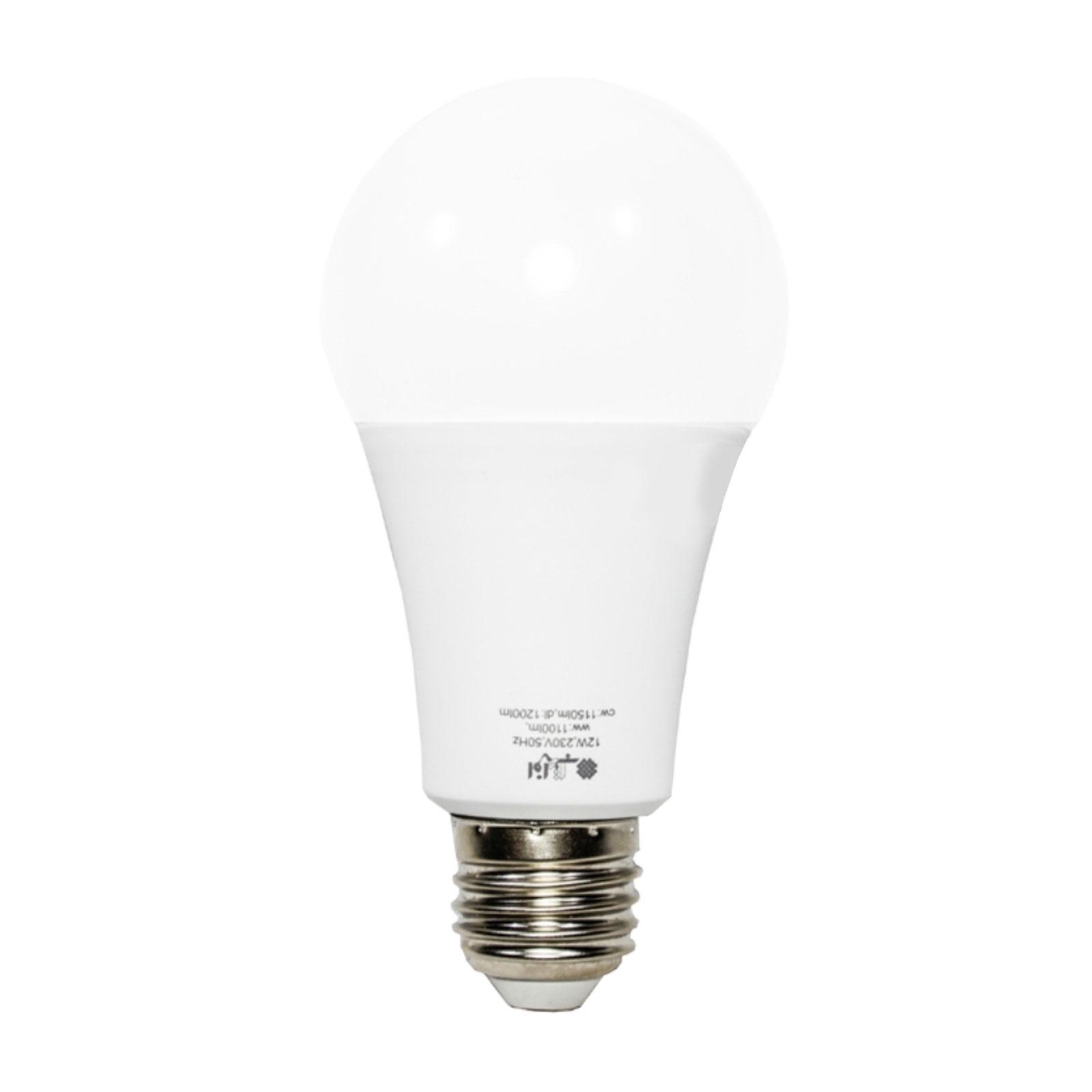 لامپ حبابی 12 وات ال ای دی LED افراتاب