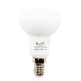 لامپ رفلکتور 6 وات ال ای دی افراتاب شمعی پایه E14