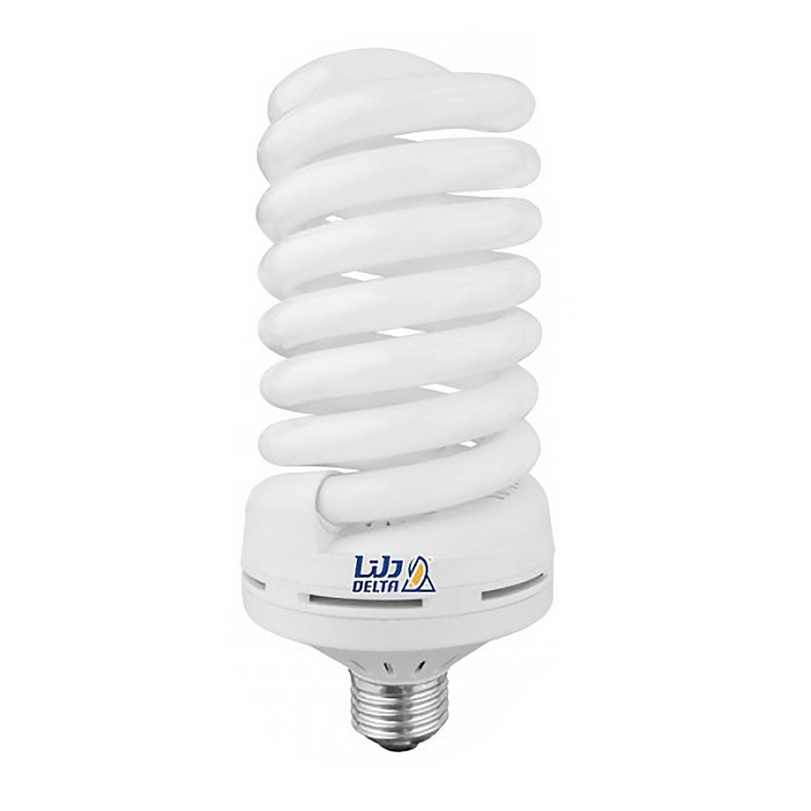 تصویر لامپ کم مصرف 80 وات فول پیچ دلتا