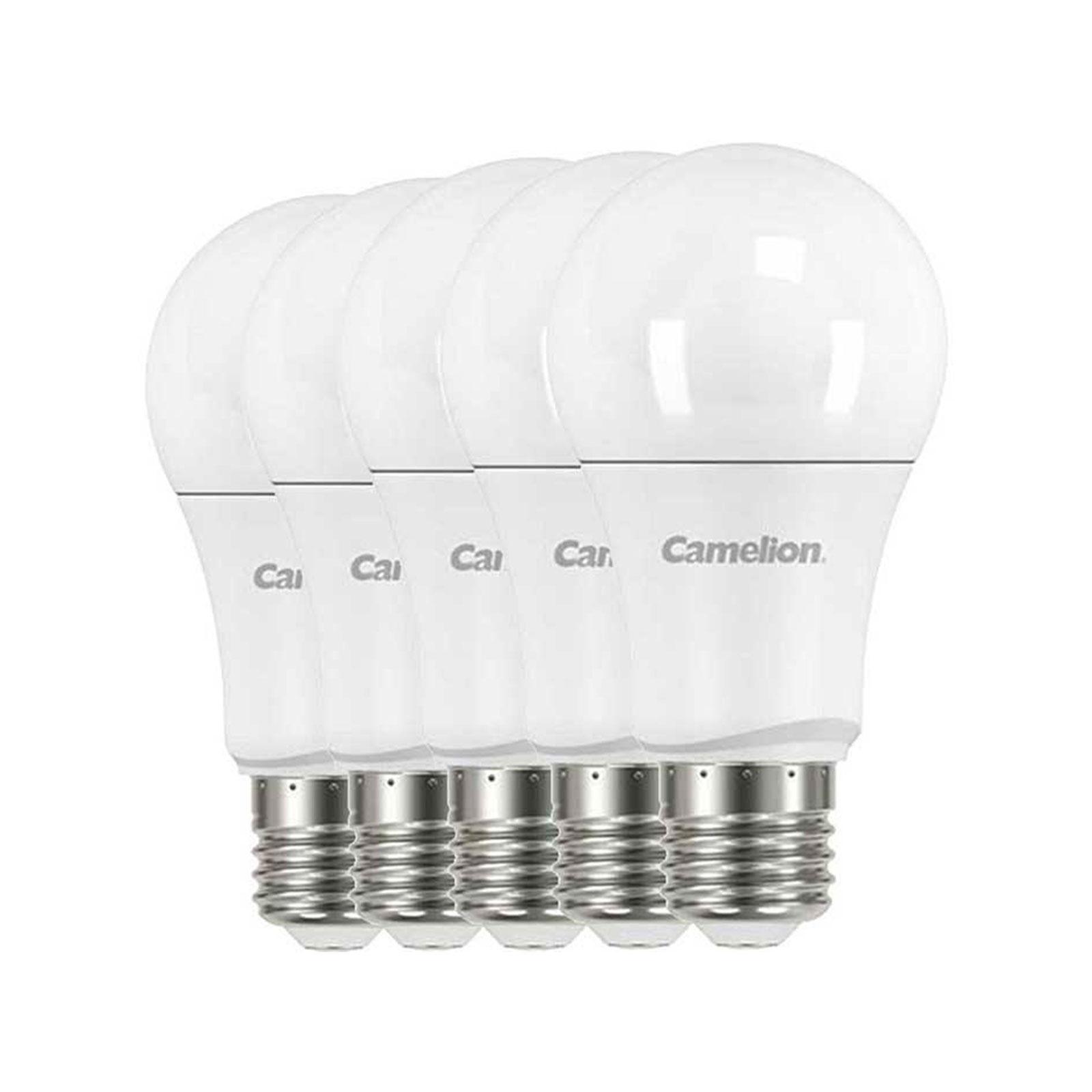 لامپ ال ای دی حبابی 12وات کملیون بسته 5 عددی
