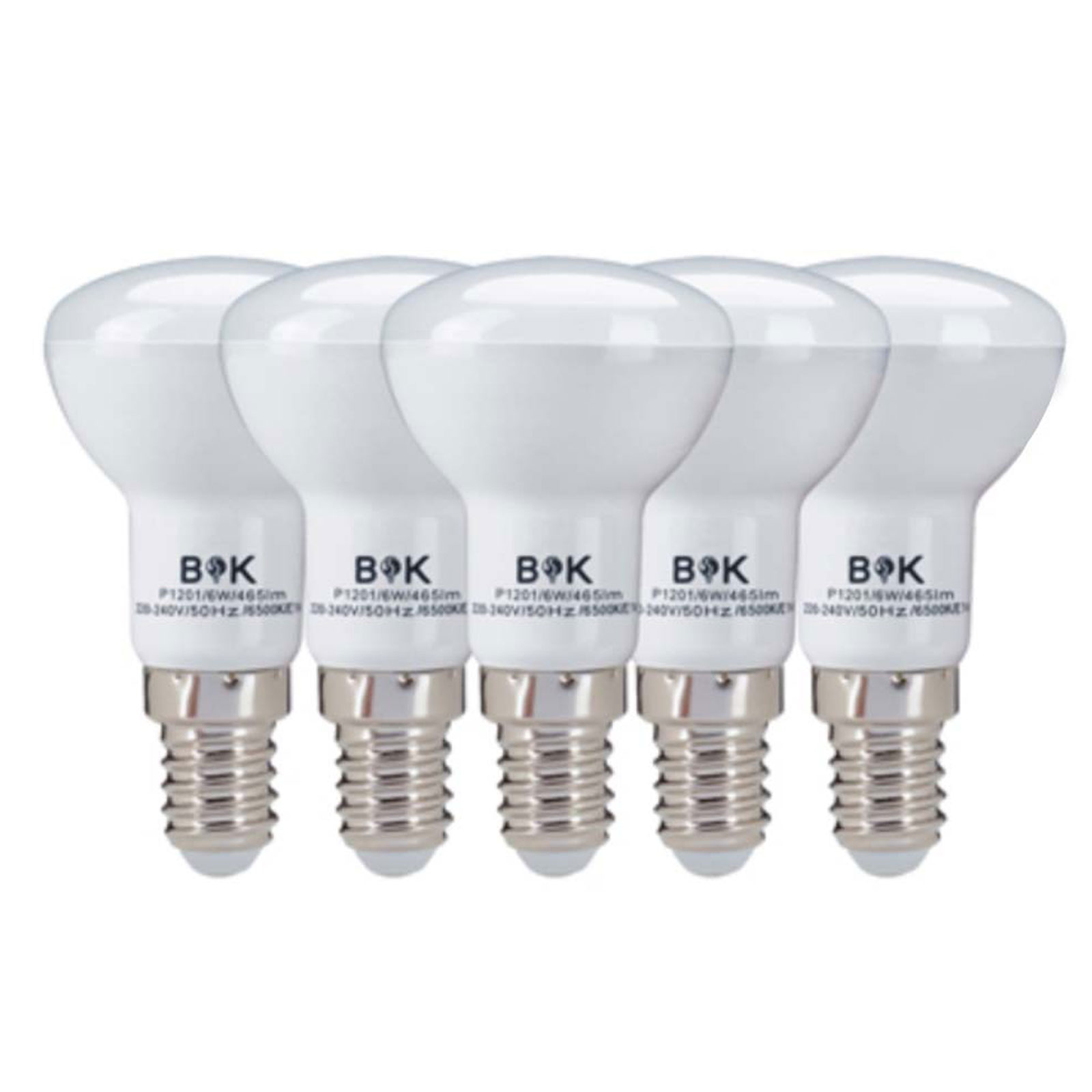 لامپ ال ای دی رفلکتور 6 وات بابک بسته 5 عددی