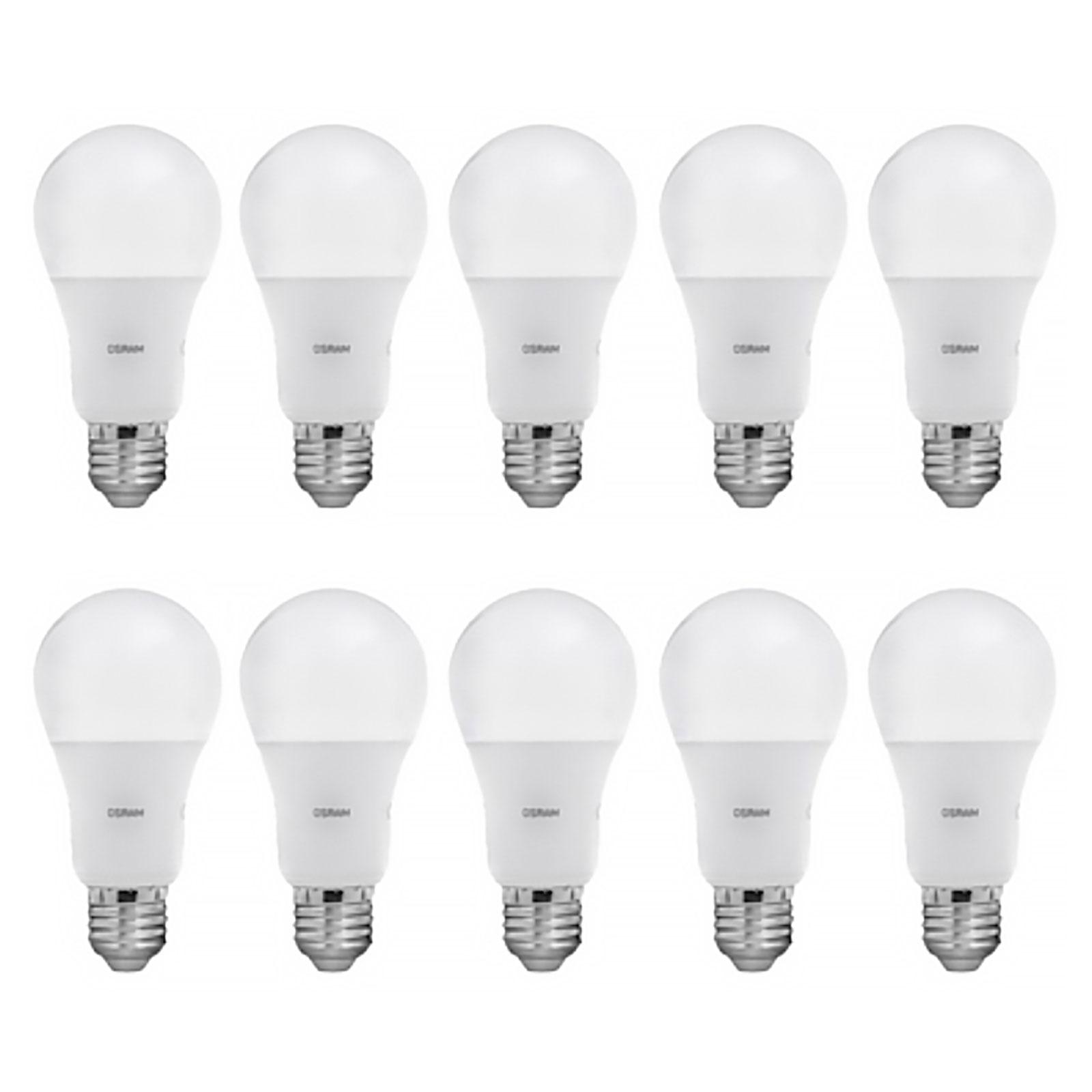 لامپ حبابی 8.5 وات اسرام بسته 10 عددی