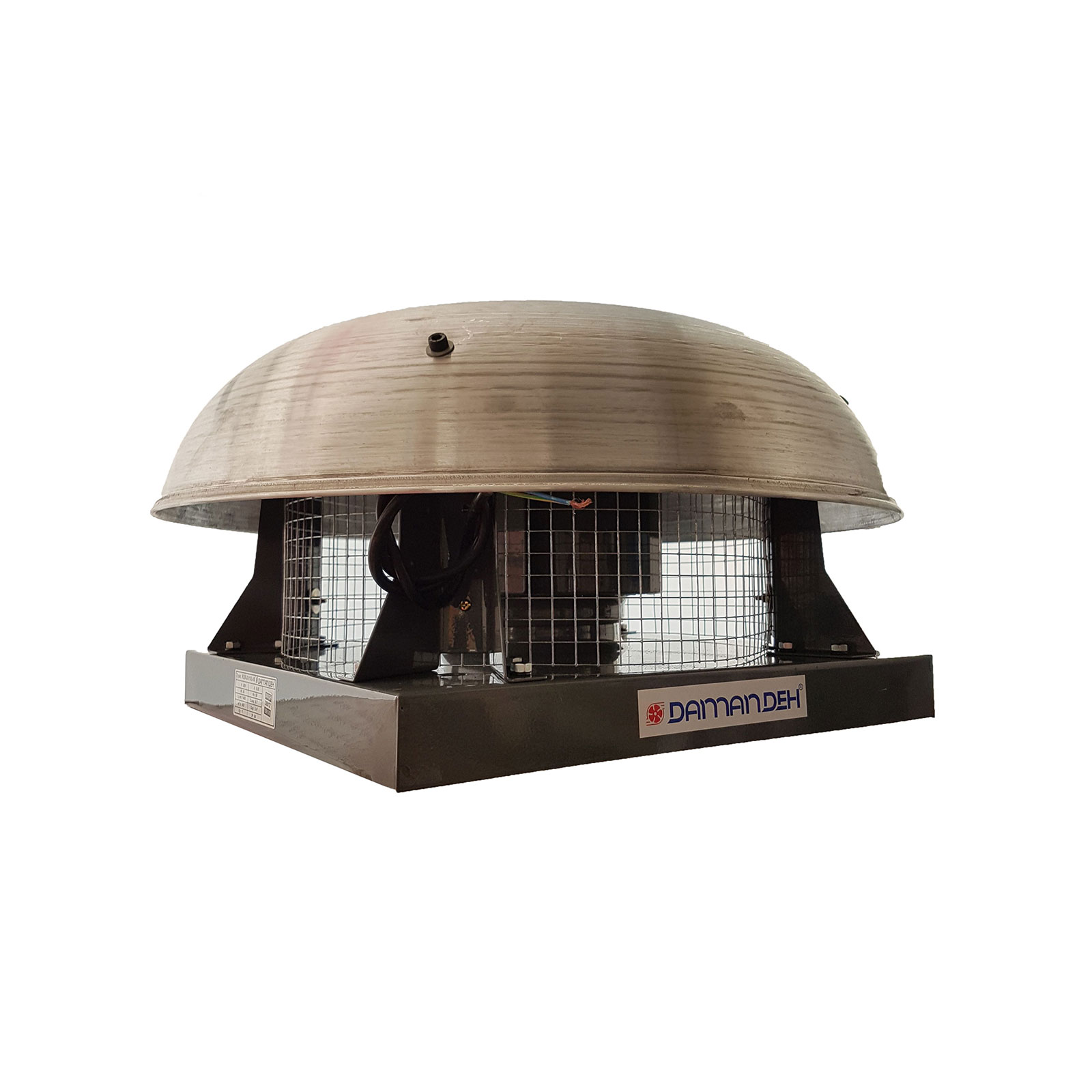 هواکش رادیال سقفی دمنده مدل REB-22/4V2S