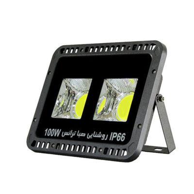 پروژکتور COB سی او بی 100 وات صبا ترانس مدل گرد پنجرهای