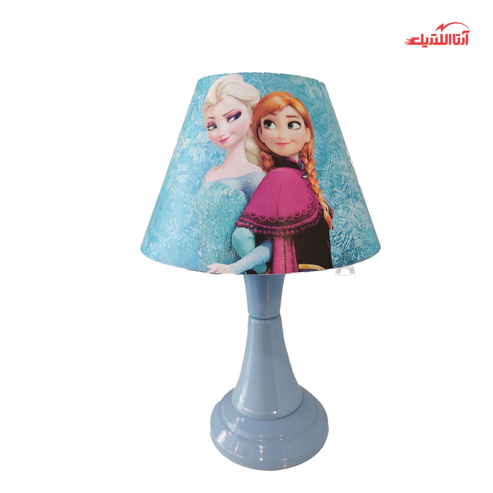 آباژور رومیزی مدل فروزن Frozen