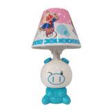 آباژور رومیزی نوزاد و کودک سفید و آبی