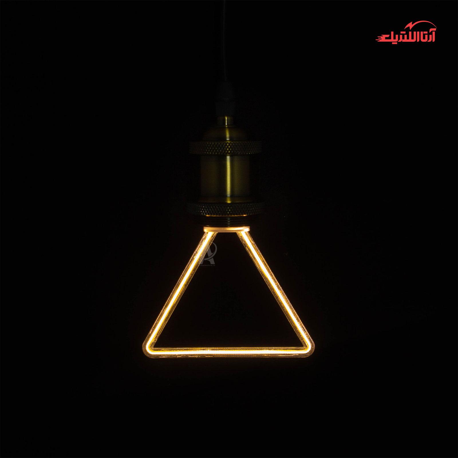 لامپ نئونی مثلثی مدل ML-A05 سرپیچ E27
