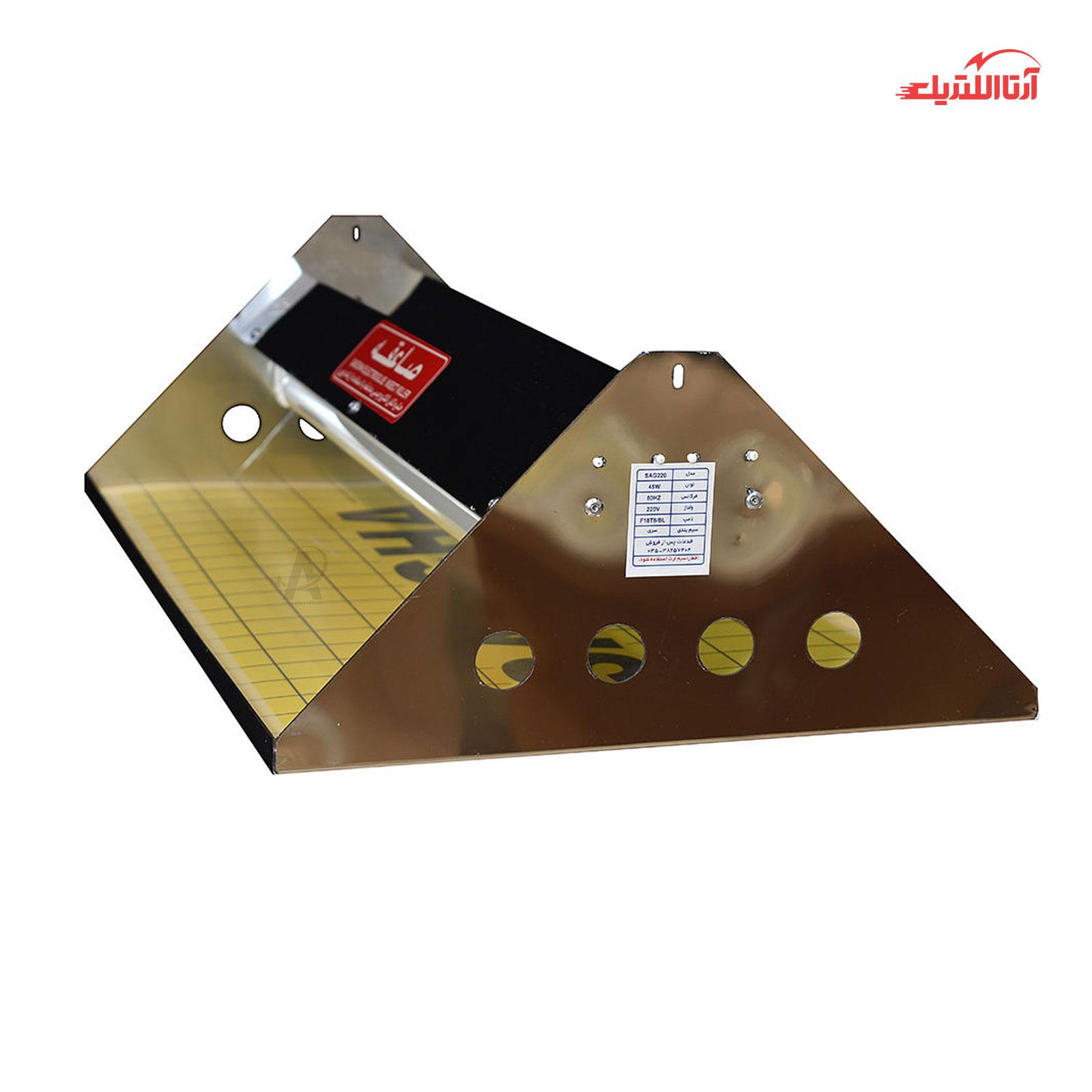 حشره کش چسبی استیل صاعقه مدل SAG220