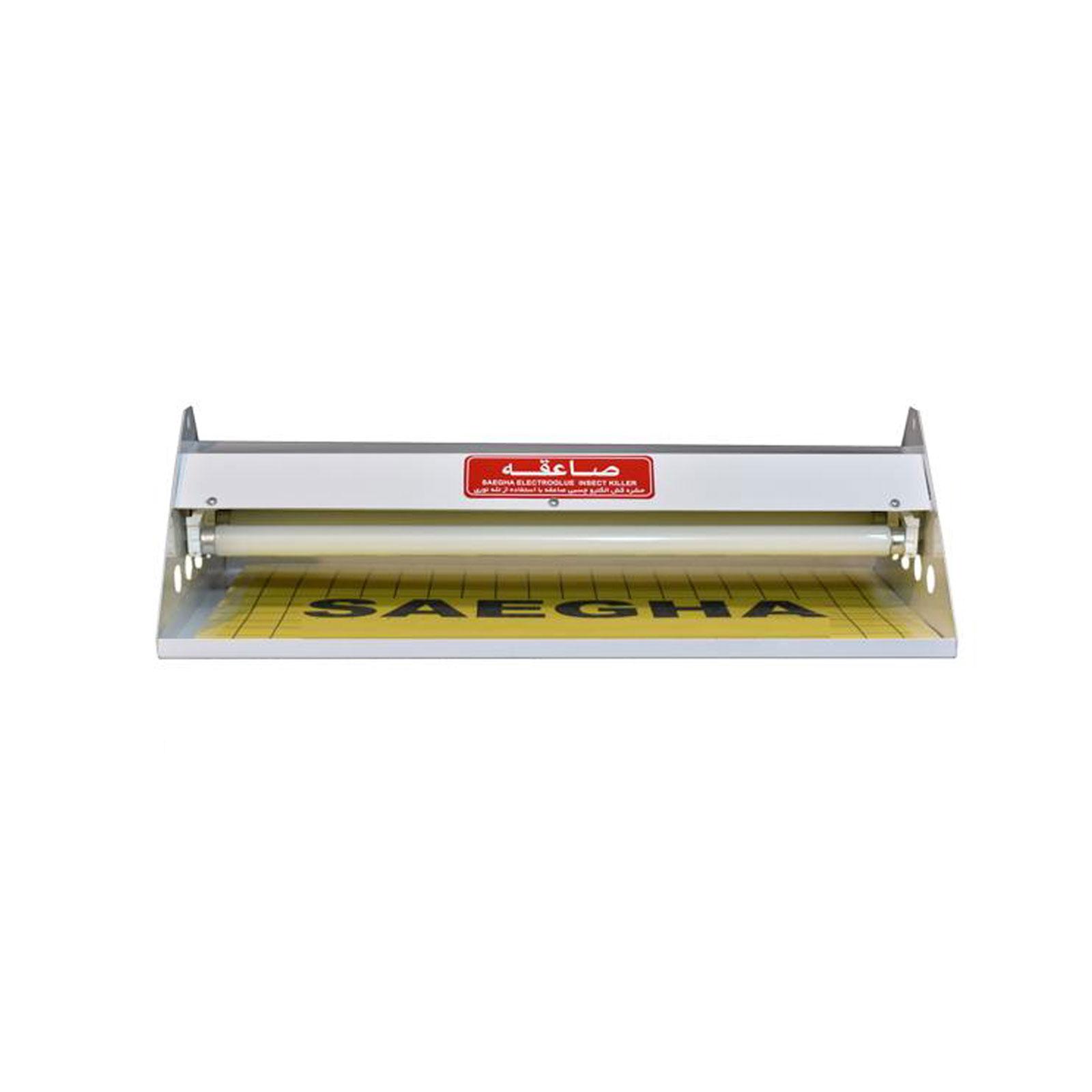 حشره کش برقی چسبی فلزی صاعقه مدل SAG220