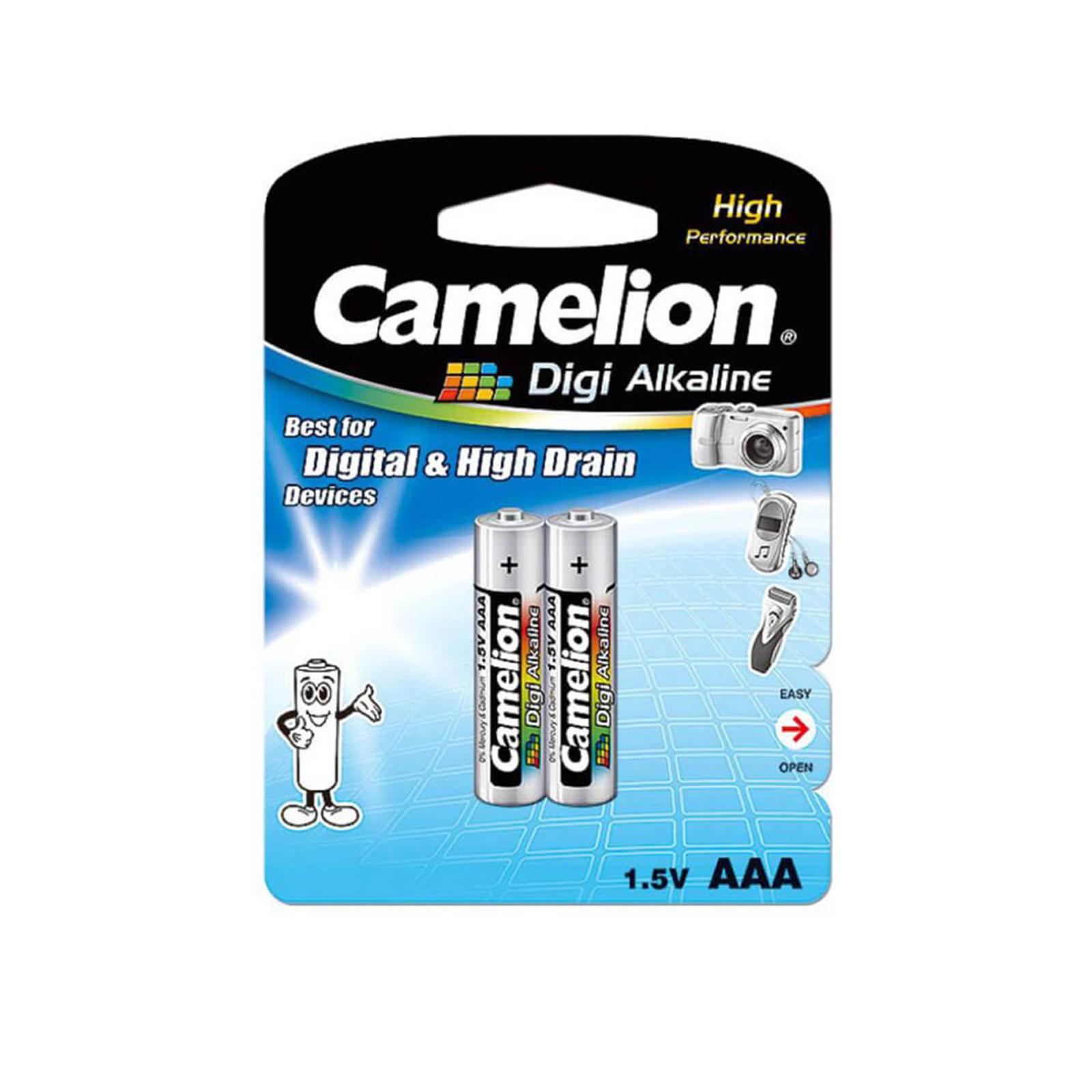 باتری نیم قلمی Digi Alkaline بسته 2 عددی کارتی