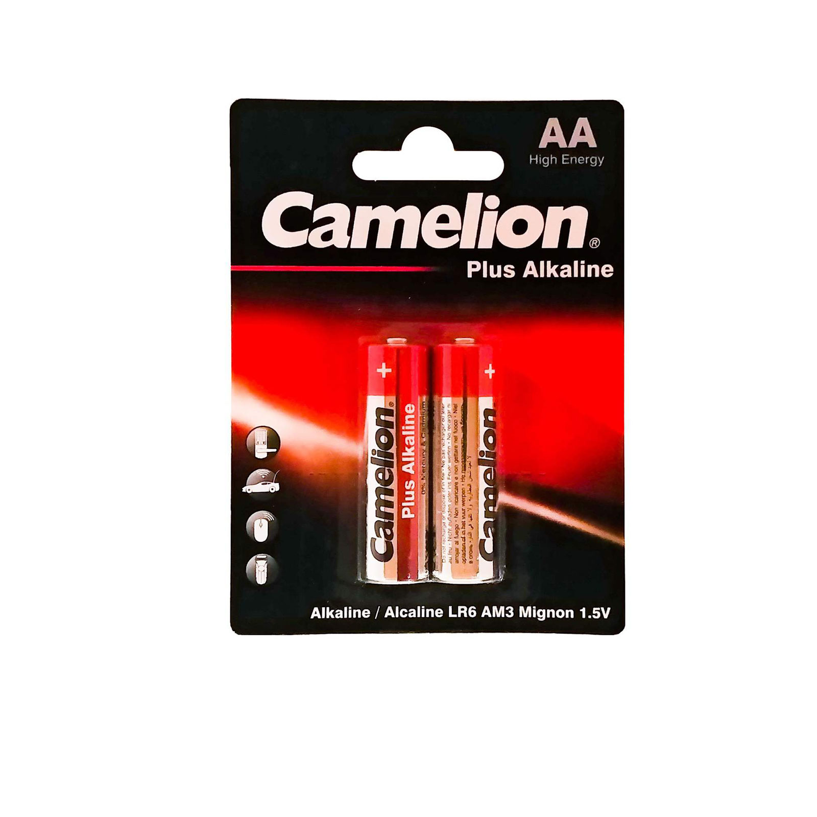 باتری قلمی مدل Plus Alkaline کملیون بسته 2 عددی