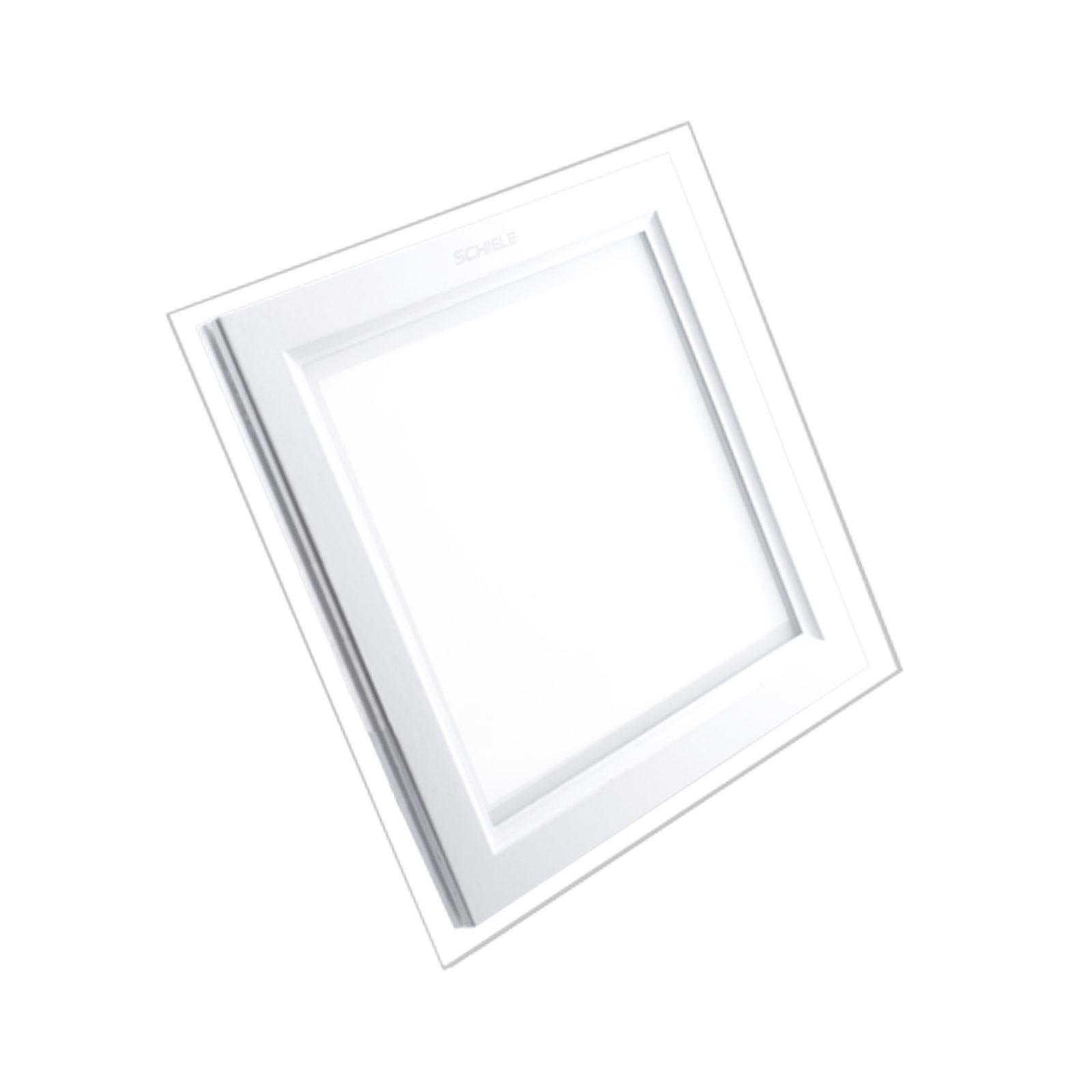 پنل ال ای دی مربعی 12 وات دور شیشه SCGSQ شیله