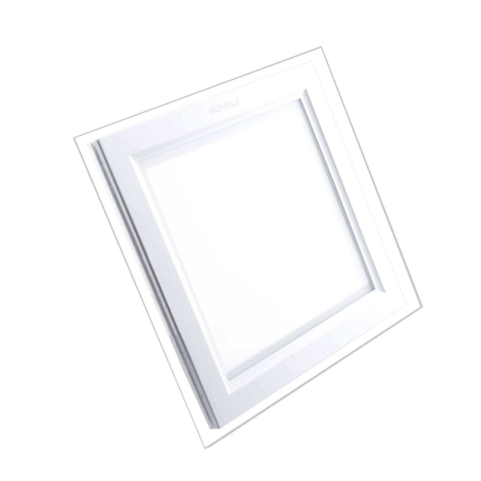 پنل مربعی 18 وات دور شیشه SCGSQ شیله