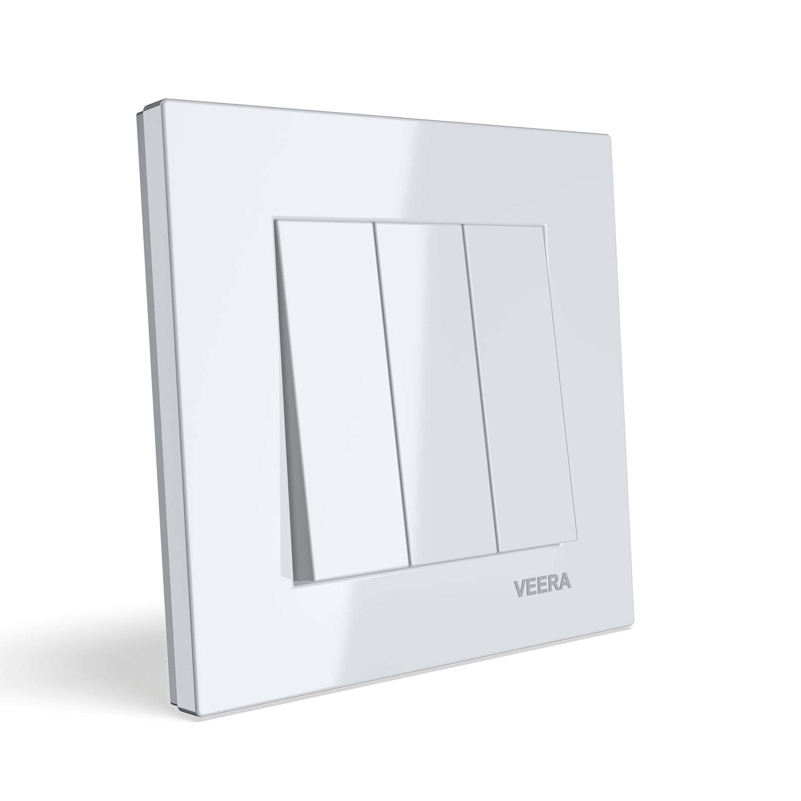 چراغ سقفی NVC توکار 12 وات مدل LA.N1810