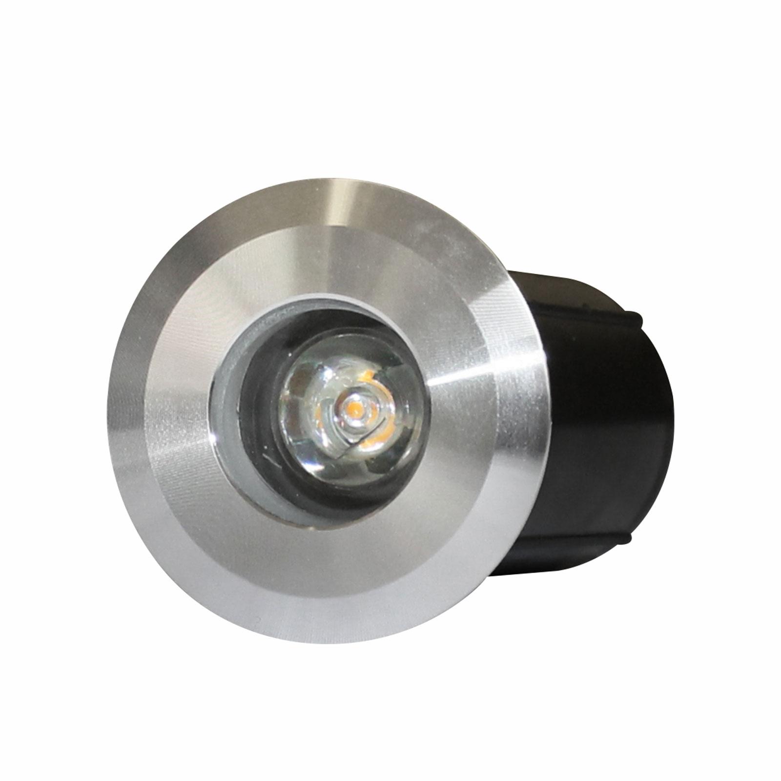 چراغ دفنی توکار گِرد ۳ وات فاین الکتریک مدل FEC-1601