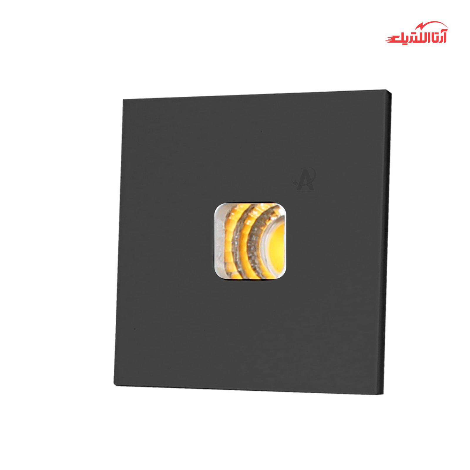 چراغ توکار مینی مربعی 3 وات فاین الکتریک مدل FEC-COB-04