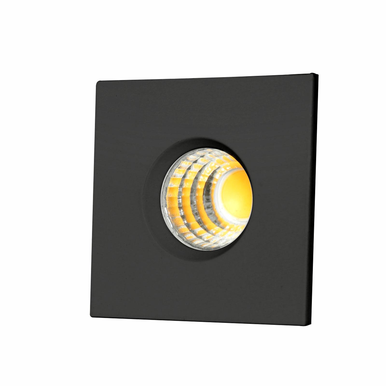چراغ توکار مینی مربعی 3 وات فاین الکتریک مدل FEC-COB-08