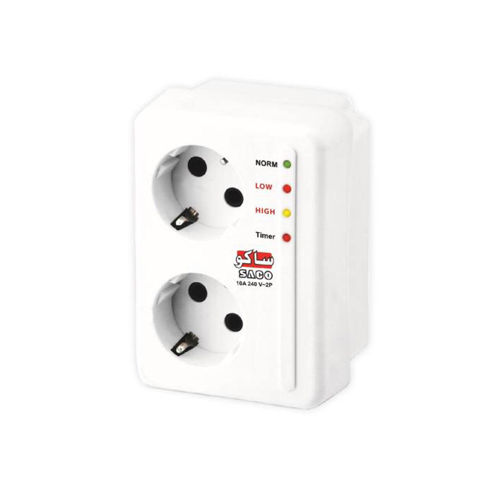 محافظ برق بدون سیم صوتی تصویری ساکو کد 22212