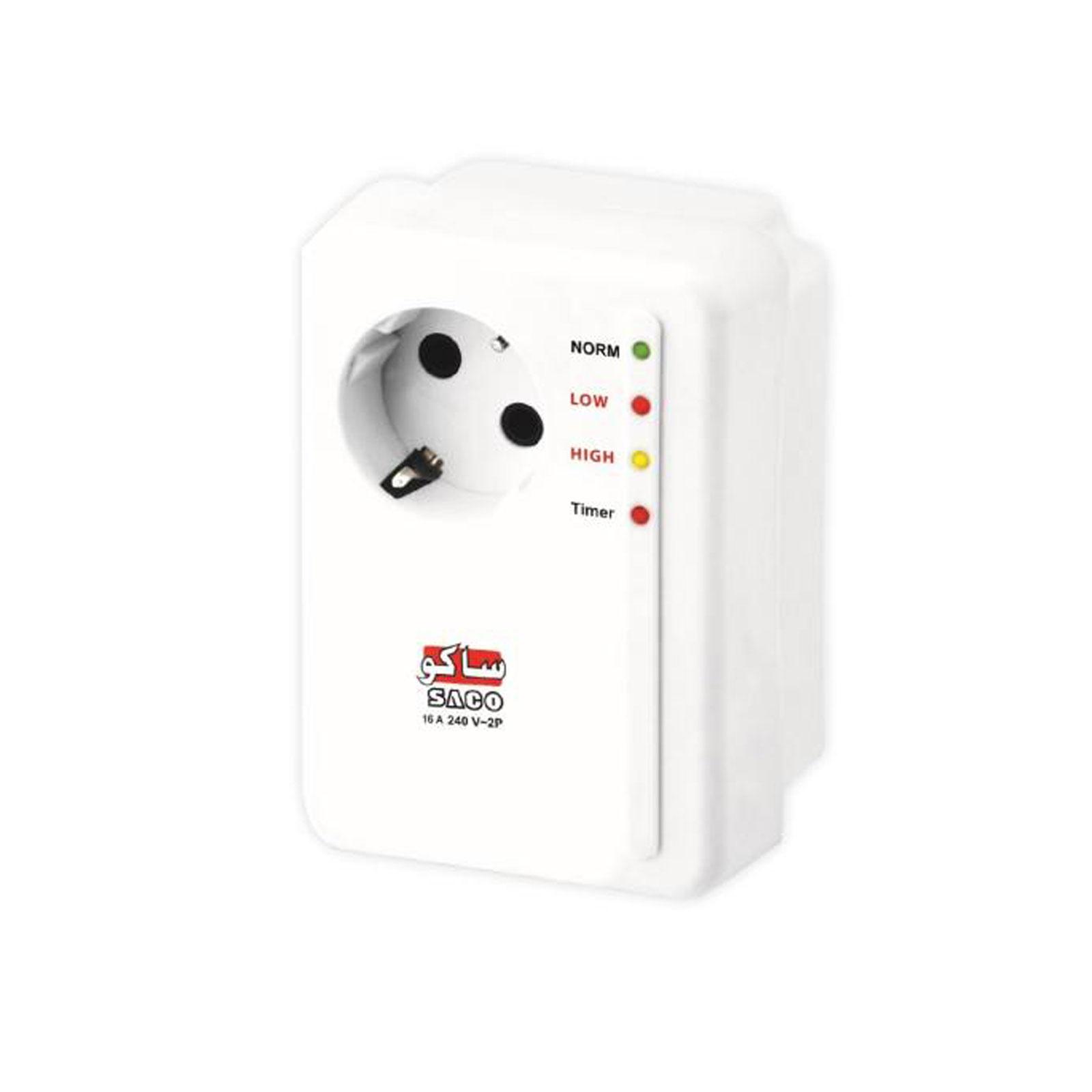 محافظ ولتاژ بدون سیم کولر گازی ساکو کد 22213