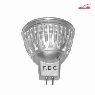 لامپ 6 وات هالوژن 220 ولت پایه سوزنی فاین الکتریک
