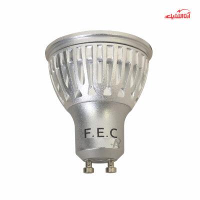 لامپ 6 وات هالوژن 220 ولت سرپیچ GU10 فاین الکتریک