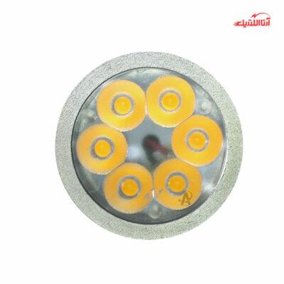 لامپ 6 وات هالوژن 12 ولت سرپیچ GU10 فاین الکتریک