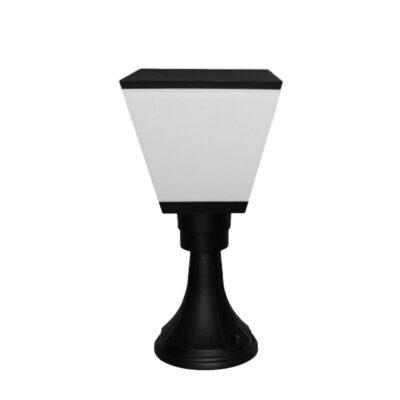 چراغ سرستونی مربع سرپیچ E27 فاین الکتریک FEC-4622-SQ