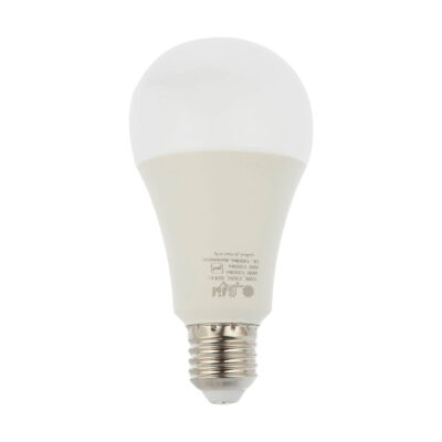لامپ ال ای دی 15 وات حبابی افراتاب سرپیچ E27